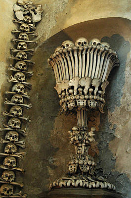 Photograph - Ossuary Chalice by Michael Kirk