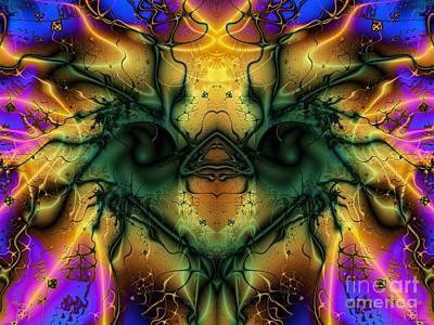 Ostrich Digital Art - Ostrich by Elizabeth McTaggart