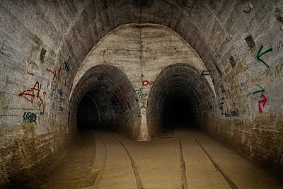 Photograph - Ostwall Tunnels In Poland by Robert Woodward
