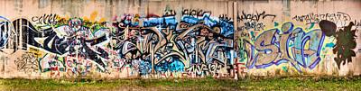 Osu Graffiti Art Print by Jacob Brewer
