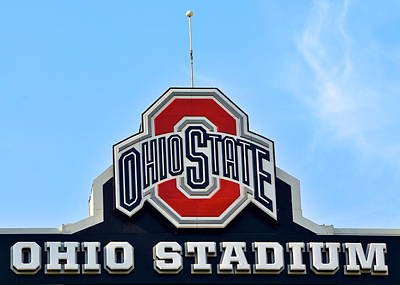 Photograph - Osu Stadium by Frozen in Time Fine Art Photography