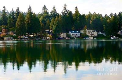 Photograph - Oswego Lake by Susan Garren