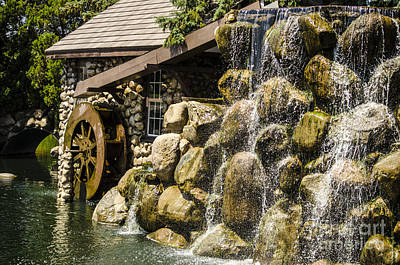 Photograph - Oswego Waterwheel 2 by Deborah Smolinske