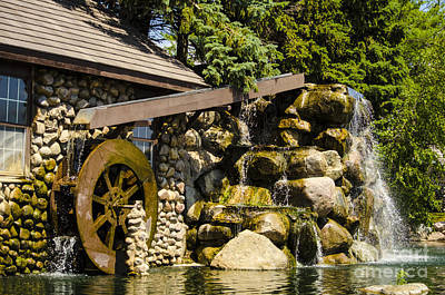 Photograph - Oswego Waterwheel 5 by Deborah Smolinske