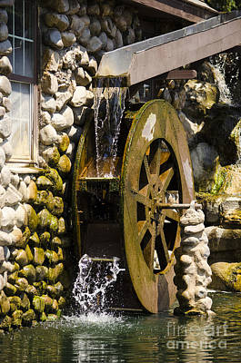 Photograph - Oswego Waterwheel 7 by Deborah Smolinske