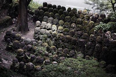 Diety Photograph - Otagi Nenbutsu-ji Temple Kyoto by Daniel Hagerman