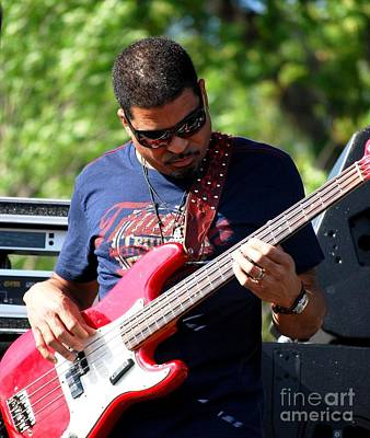 Photograph - Oteil Burbridge by Angela Murray