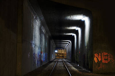 Tunnel Photograph - Other Side Of The Tunnel by EXparte SE