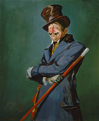 Portaits Painting - Otis Skinner As Col Philippe Bridau by Mountain Dreams
