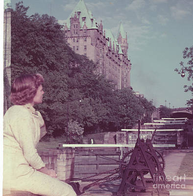 Photograph - Ottawa 1956 by Vintage Photography