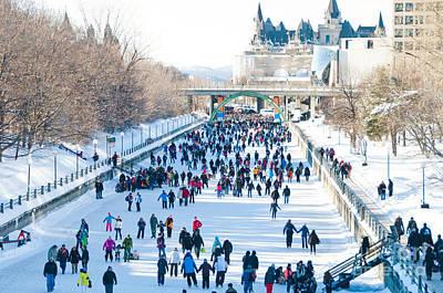 Photograph - Ottawa Canal by Cheryl Baxter