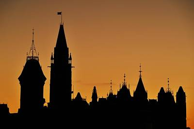 Photograph - Ottawa Dusk by Tony Beck