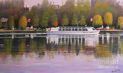 Painting - Ottawa Queen by Al Hunter