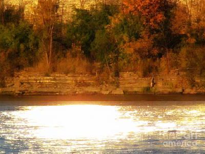 Photograph - Ottawa River Sunset by France Laliberte