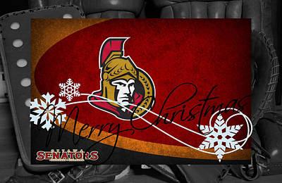 Ottawa Wall Art - Photograph - Ottawa Senators Christmas by Joe Hamilton