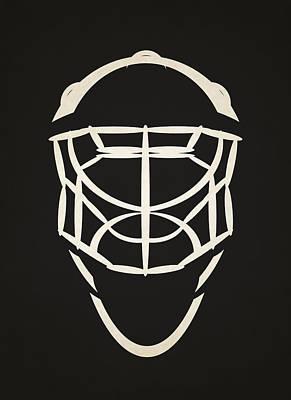 Ottawa Senators Goalie Mask Art Print