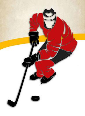 Ottawa Senators Rink Art Print