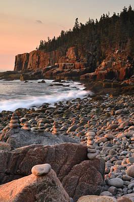 Otter Cliffs Morning Art Print