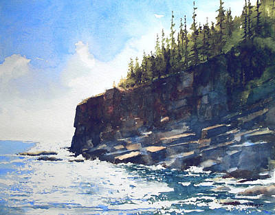 Painting - Otter Point by William Beaupre