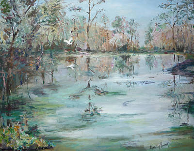 Painting - Otter Springs by Dorothy Herron