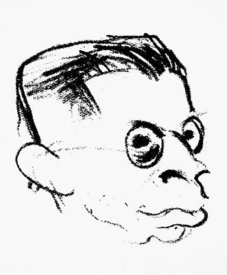 Parody Drawing - Otto Rank (1884-1939) by Granger