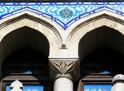 Ottoman Era Tiled Mosque Art Print by Cimorene Photography