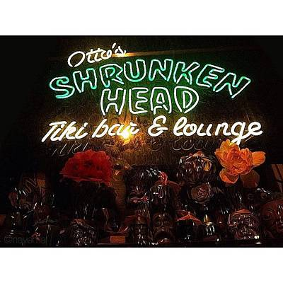 Otto's Shrunken Head Art Print