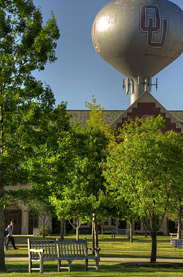 Oklahoma University Photograph - Ou Campus by Ricky Barnard
