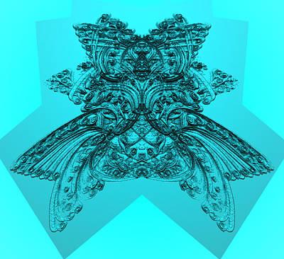 Digital Art - Oubliette Deux 8  by Zac AlleyWalker Lowing