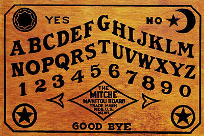 Painting - Ouija Board 1 by Tony Rubino
