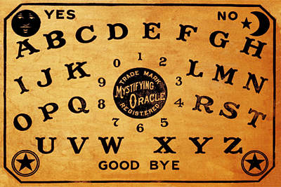 Painting - Ouija Board 3 by Tony Rubino