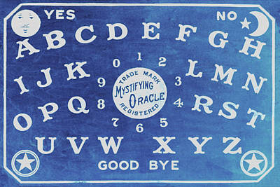 Painting - Ouija Board 4 by Tony Rubino