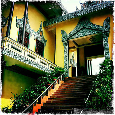 Photograph - Ounalom Pagoda by Randy Green
