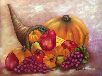 Painting - Our Abundance by Annamarie Sidella-Felts