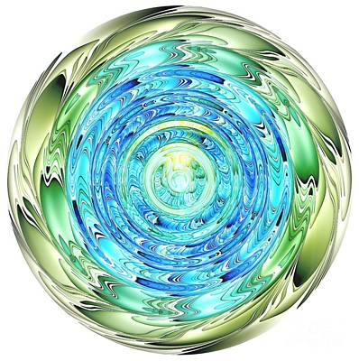 Digital Art - Our Beautiful Earth by Renee Trenholm