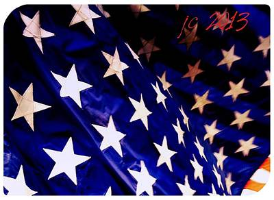 Our Colors Of Freedom Art Print by Jeremiah Colley