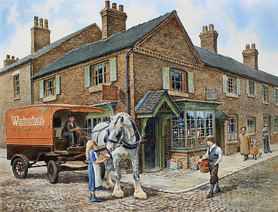 Our Daily Bread Art Print by Anthony Forster