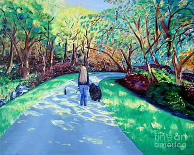 Painting - Our Daily Walk by Lisa Rose Musselwhite