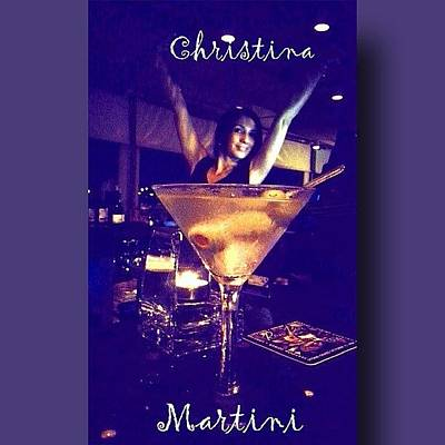 Martini Wall Art - Photograph - Our Fave Martini Goddess :) #ggs by Jesus And Marilyn