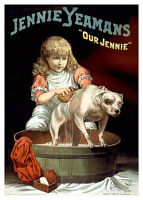 Our Jennie Print by Terry Reynoldson