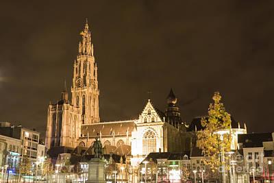 Antwerpen Photograph - Our Lady by Gabriela Insuratelu