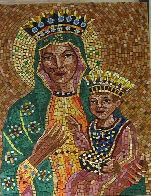 Relief - Our Lady Of Czetochowa by Patrick RANKIN