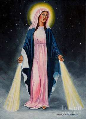 Painting - Our Lady Of Grace II by Lora Duguay