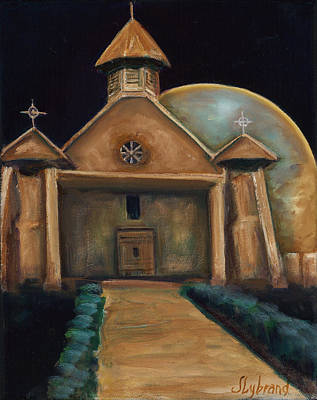 Our Lady Of Guadalupe Painting - Our Lady Of Guadalupe Parish Peralta Nm II by Judy Lybrand