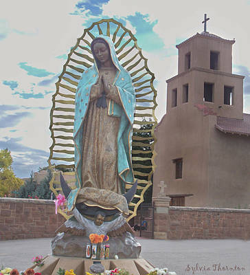 Art Print featuring the photograph Our Lady Of Guadalupe by Sylvia Thornton