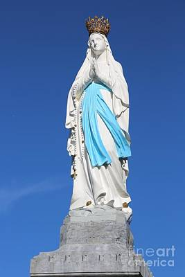 Our Lady Of Lourdes Art Print by Carol Groenen