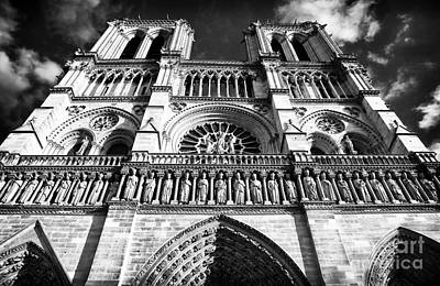 Photograph - Our Lady Of Paris by John Rizzuto