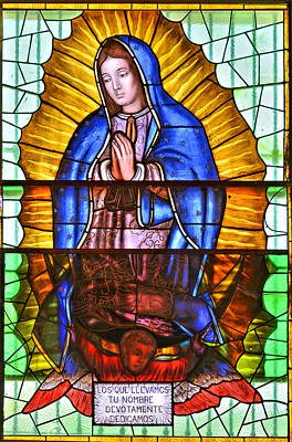 Mexican Photograph - Our Lady Of Peace by Christine Till