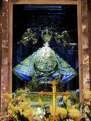 Photograph - Our Lady Of San Juan De Los Lagos by Claudia Ellis