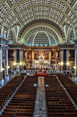 Our Lady Of Sorrows Basilica IIi Art Print by Roger Lapinski